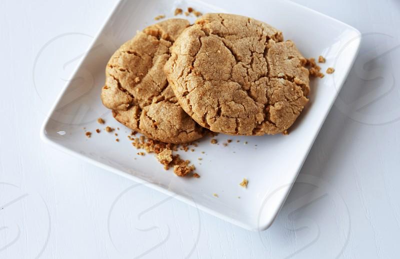 Peanut Butter Cookies  White Bakery Restaurant fresh photo
