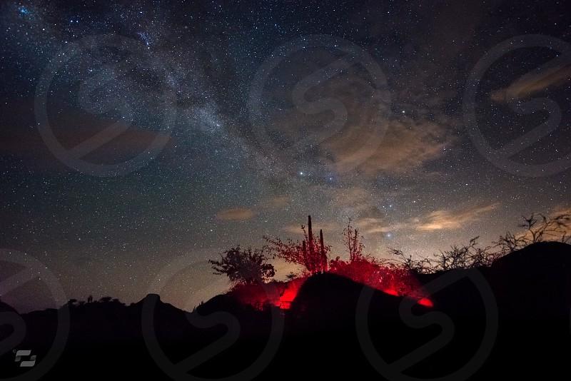 The Milky Way - Tatacoa Desert photo
