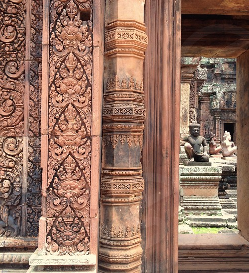 Banteay Srei temple -- Siem Reap Cambodia photo