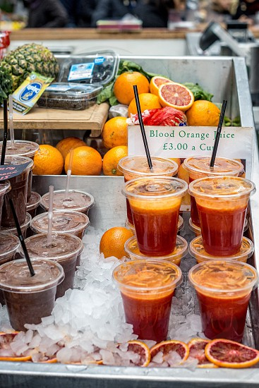 A morning a Borough Market London photo