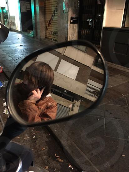 Someone receives a call - Granada  photo