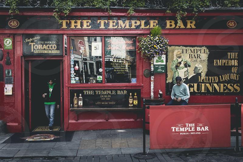 The Temple Bar Dublin. photo
