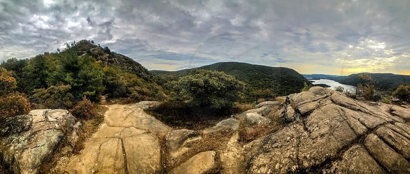 River valley river valley Hudson River Hudson Valley Appalachians Appalachian mountains Storm King mountain Breakneck ridge nature panorama landscape hiking fall beauty  photo