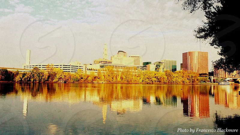 The city of Hartford CT photo
