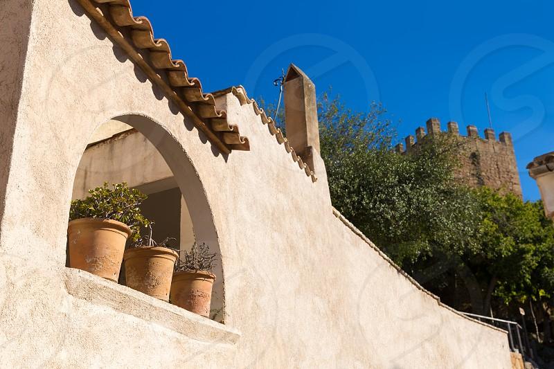 Majorca Capdepera village at  Mallorca Balearic Island Spain photo