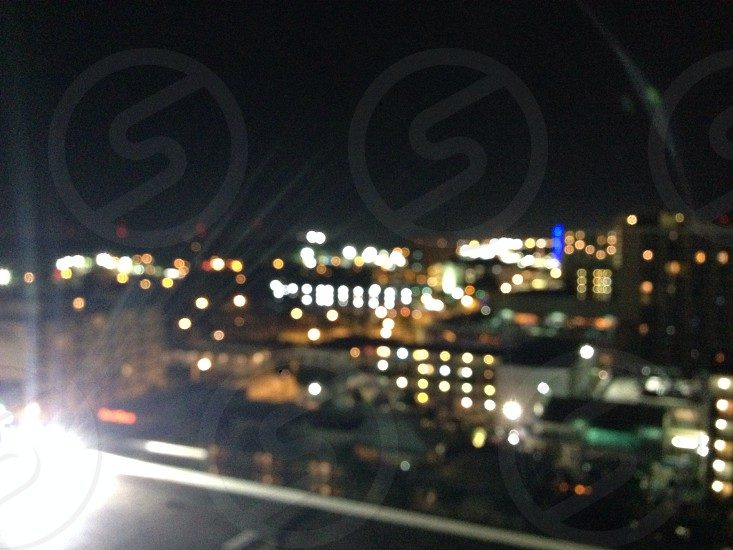 Myrtle beach South Carolina at night  photo