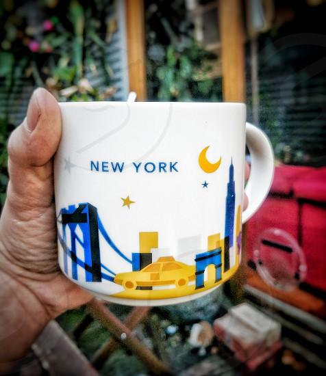 Starbucks coffee mug from New York photo