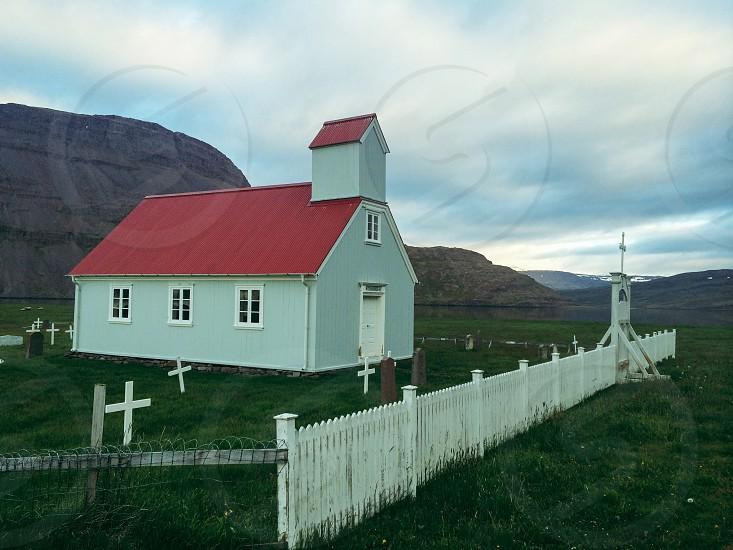 Iceland westfjorda churc photo