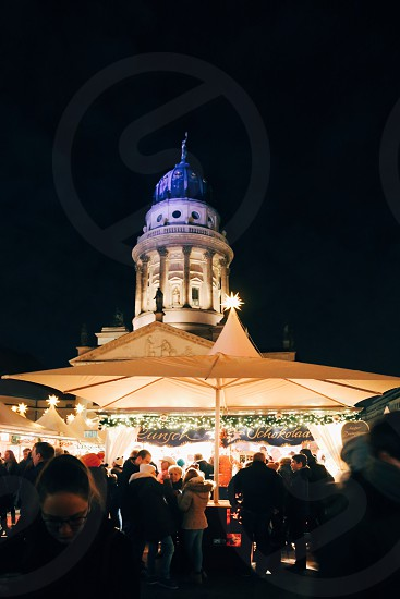 Gendarmenmarkt  Berlin  Christmas market photo