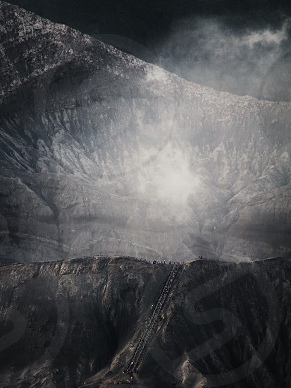The Bromo Crater East Java - Indonesia photo