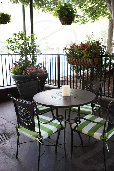 exterior restaurant patio al fresco photo