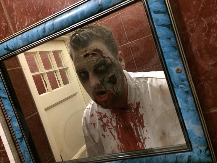 Halloween Zombie Chef photo