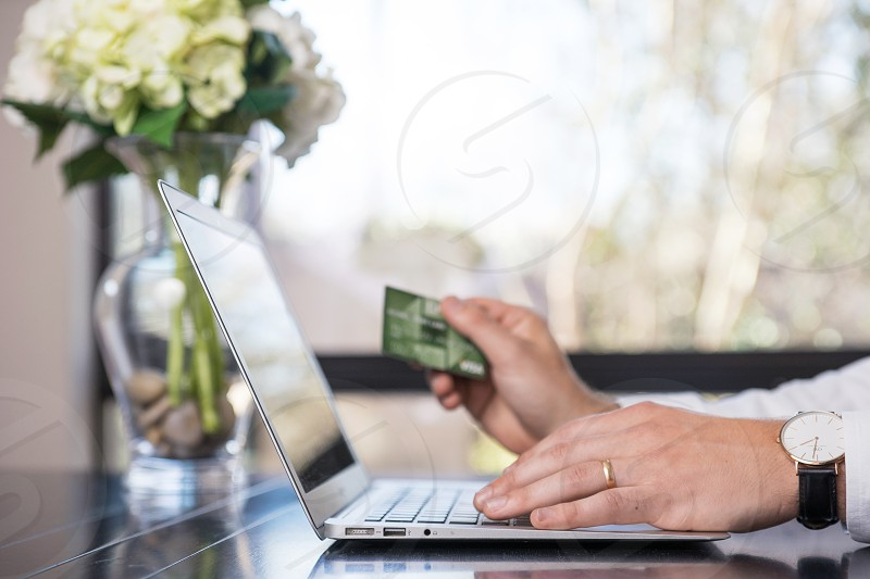 Home Finance. Online Shopping. photo