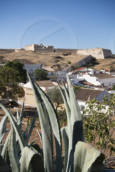 The Forte Sao Sebastiao in the town of Castro Marim at the east Algarve in the south of Portugal in Europe. photo