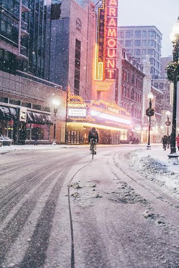 Boston biking  photo