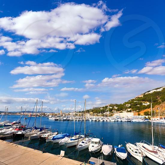 Javea Xabia marina Club Nautico in Alicante Mediterranean of spain photo