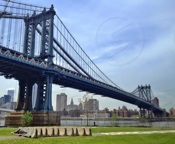 Brooklyn bridge.  photo