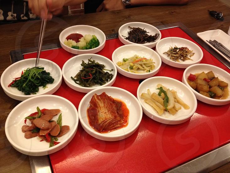 Korean dishes photo