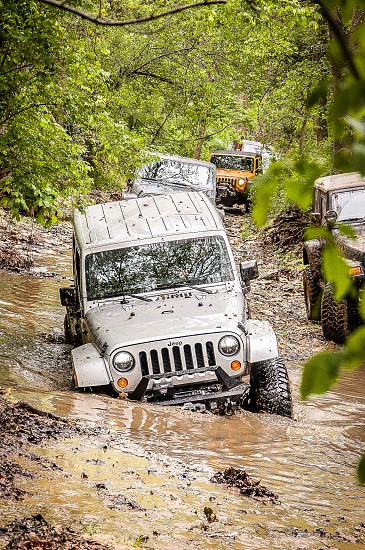 WEEKEND WARRIORS | Getting dirty doing one of our favorite hobbies getting dirty on Jeep trails!  Turkey Bay KY photo