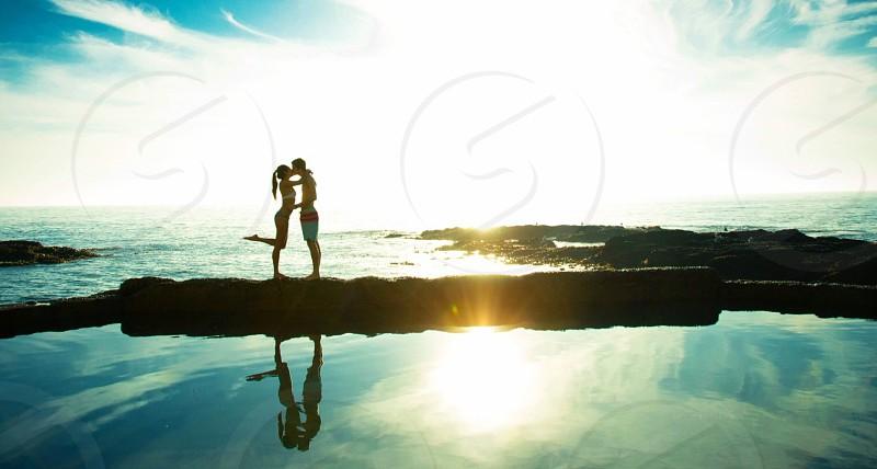 Summer love in laguna  photo