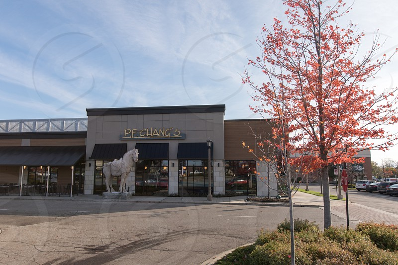 The exterior of P.F. Chang's in Rochester Michigan. photo