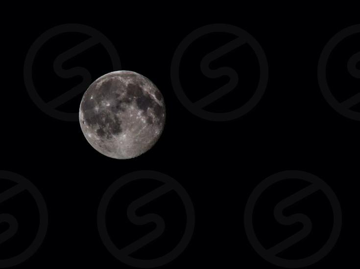 Night moon nature Sky dark photo