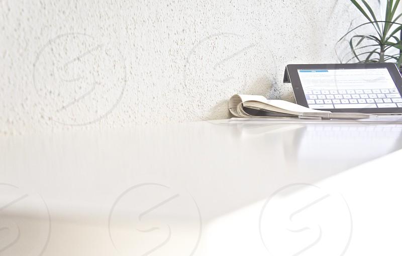minimal office photo