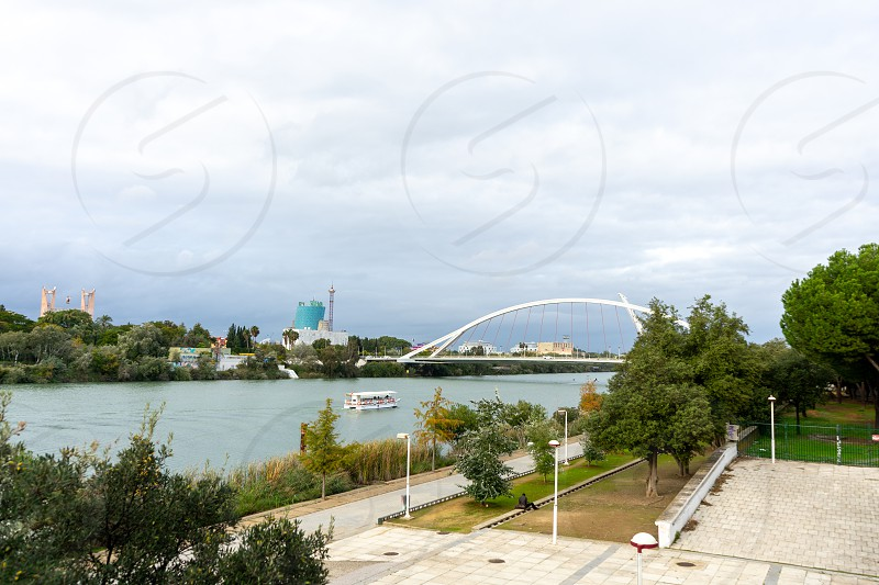Puente de la Barqueta photo