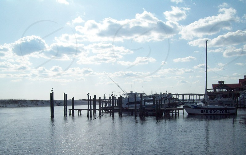 Harbor View Ocean Destin Fl Boat Scene photo