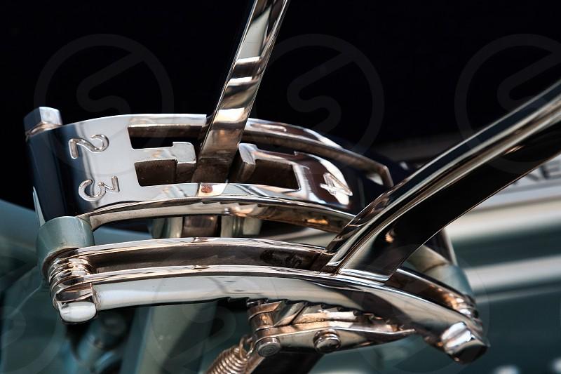 Close-up Gear Change on Rolls Royce Silver Dawn 1908 photo