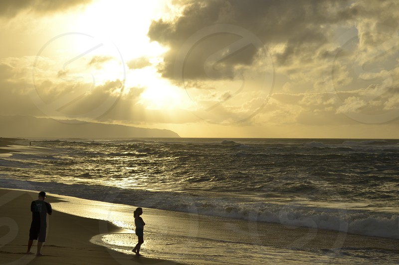 Hawaii's north Shore.. that sunset photo