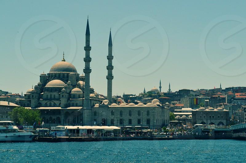 Istanbul Mosque Bosphorus Turkey photo