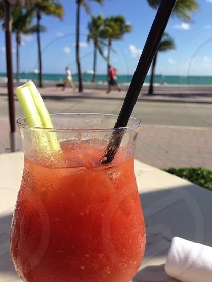 Bloody Mary beach photo