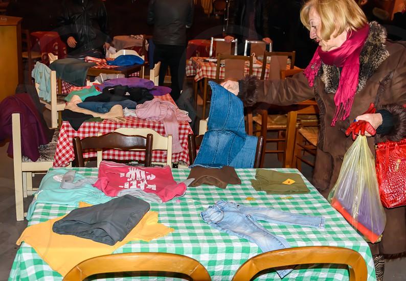 Charity & Volunteering Market without money - Sarajevo Bosnia and Herzegovina  photo