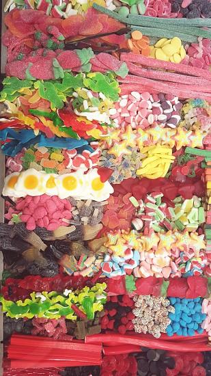 gummy candies lot photo