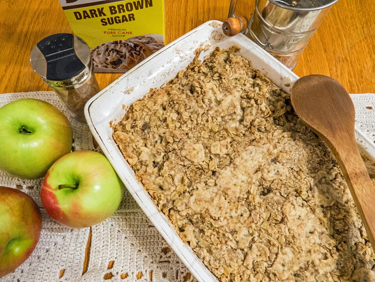 Baking - Apple Crisp  photo