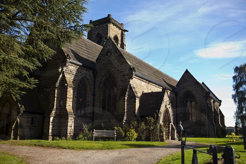 English Church in the sun photo