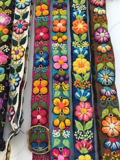Who said belts have to be boring?  photo