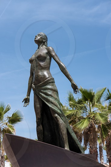 Lady of the Sea Statue in Fuengirola photo