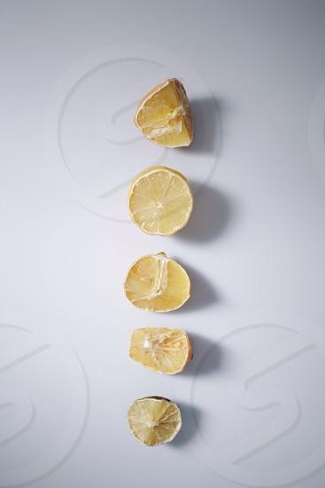 yellow lemon slice photo