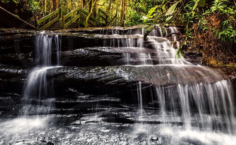 Serenity Falls waterfall water ND filter long exposure photo