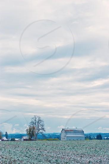 white wooden house photo