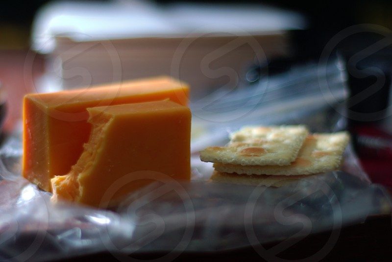 Love my cheese and crackers. photo