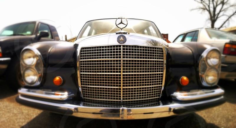 A nice car on a sun shiny day photo