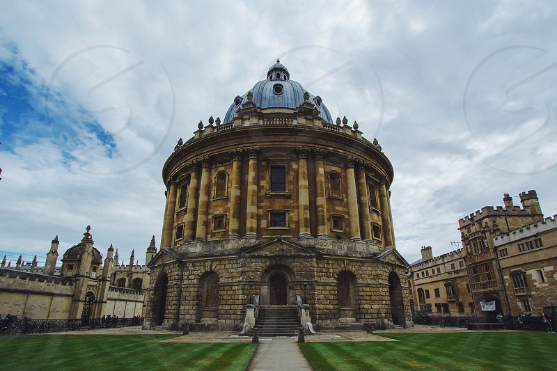 No people but a very iconic building of Oxford.  photo