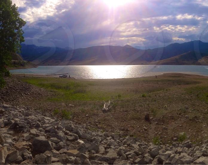 Lakes really make me happy:)  photo