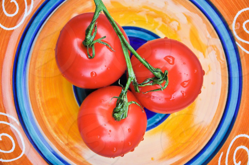 KITCHEN DETAILS   Nothing says refreshing than homegrown juicy red tomatoes. photo