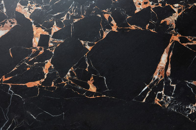 natural of dark gray marble pattern for design. photo