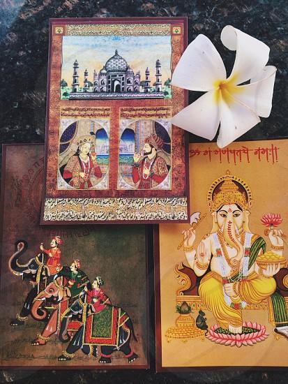 elephant goddess  photo