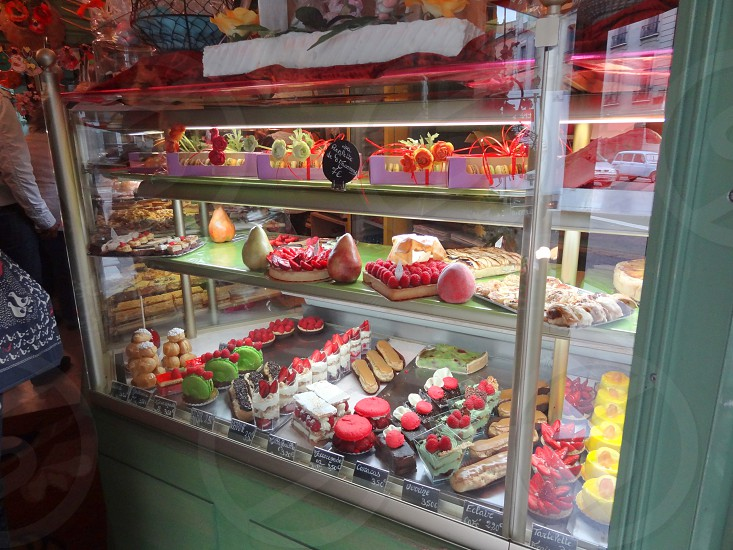 French pastry shop outside Palace of Versailles photo